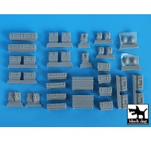 Black Dog - British equipment accessories set 1:35