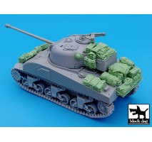 Black Dog - British Sherman Firefly accessories set 1:35