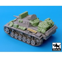 Black Dog - Pz.Kpfw.III Ausf.N accessories set 1:35