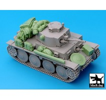 Black Dog - Pz.Kpfw.38 t Ausf.G accessories set 1:35