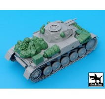 Black Dog - Pz.Kpfw. II Ausf C accessories set 1:35