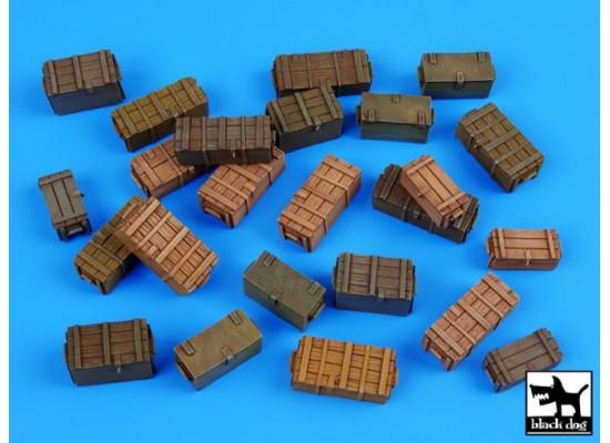 Black Dog - Universal ammo boxes 1:35