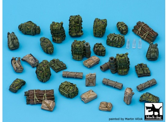 Black Dog - Canadian equipment accessories set 1:35
