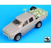 Black Dog - Pick-up US special forces accessories set 1:35