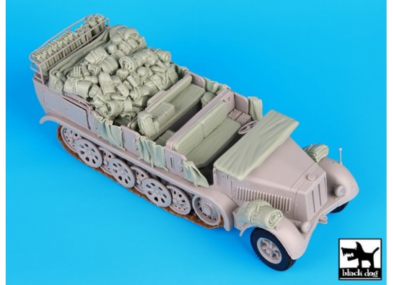 Black Dog - Sd.Kfz 7 big accessories set 1:35