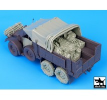 Black Dog - Krupp Protze big accessories set 1:35