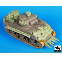 Black Dog - Sherman 75mm Normandy accessories set 1:35