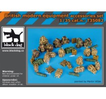 Black Dog - British modern equipment accessories set 1:35