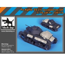 Black Dog - Pz Kpfw 35 :t : accessories set 1:35