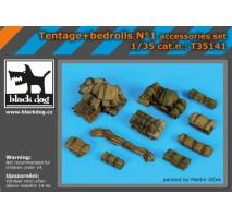 Black Dog - Set accesorii 1 – Corturi si prelate 1:35