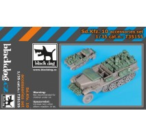 Black Dog - Sd.Kfz 10 accessories set 1:35