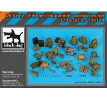 Black Dog - US Army (Vietnam) equipment accessories set 1:35