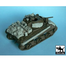 Black Dog - US Sherman accessories set 1:48