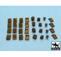 Black Dog - Food supplies 1 accessories set 1:48