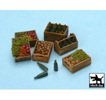 Black Dog - Food supplies 2 accessories set 1:48