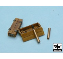 Black Dog - Panther ammo boxes 1:48