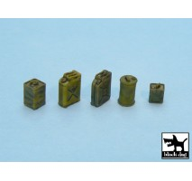 Black Dog - Fuel cans accessories set 1:48