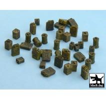 Black Dog - Set accesorii – canistre 1:48