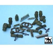 Black Dog - Set accesorii 1 – echipament american modern 1:48