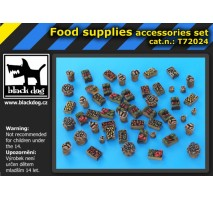 Black Dog - Food supplies accessories set 1:72