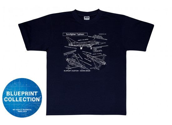 Blueprint Collection - Tricou Eurofighter Typhoon