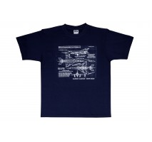 Blueprint Collection - Tricou Mig-21 MF