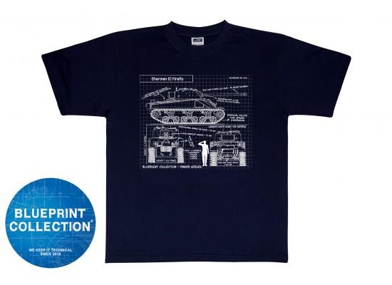 Blueprint Collection - T-Shirt Sherman Firefly VC