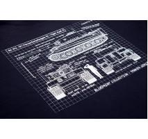 Blueprint Collection - Tricou Tiger Ausf E