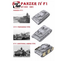 Border Model BT-003 - 1:35 Panzer IV Ausf. F1