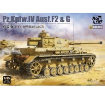Border Model BT-004 - 1:35 Panzer IV Ausf. F2/G