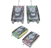 Border Model BT-005 - 1:35 Panzer IV Ausf. H Early/Mid (with crew)