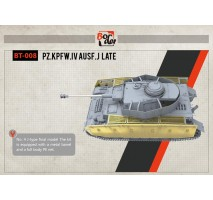 Border Model BT-008 - 1:35 Panzer IV Ausf. J Late