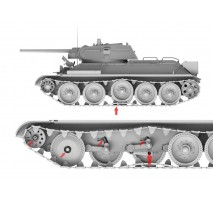 Border Model BT-009 - 1:35 T-34E (mit Zusatzpanzerung) / T-34-76