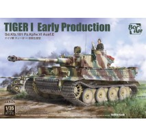 Border Model BT-010 - 1:35 Tiger I Early Production Sd.Kfz.181 Pz.Kpfw.VI Ausf.E