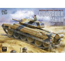 Border Model BT-012 - 1:35 British cruiser tank, Crusader MKIII