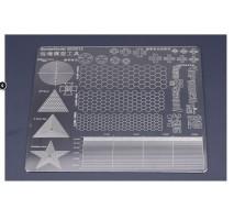 Border Model BD0012 - Lines Geometry Mask Cutting Mat