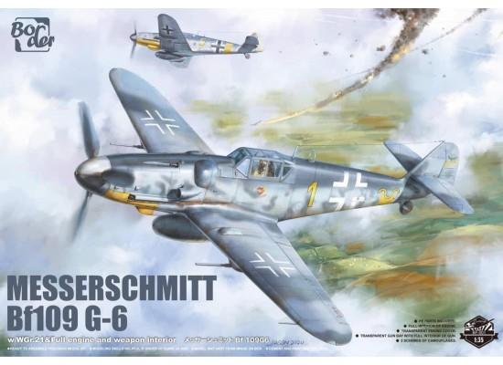 Border Model BF-001 - 1:35 Messerschmitt BF109G-6
