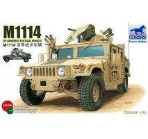 Bronco Models CB35080 - 1:35 M1114 Up-Armored Tactical Vehicle