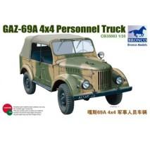 Bronco CB35093 - 1:35 GAZ-69A 4×4 Personnel Truck