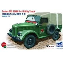 Bronco CB35096 - 1:35 Russian GAZ-69(M) 4x4