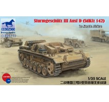 Bronco CB35117 - 1:35 German Stug III Ausf D Afrika Korps