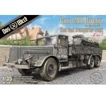 Das Werk 35001 - 1:35 Faun L900 Hardtop 2in1