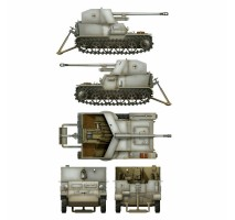 Das Werk 35017 - 1:35 Pz.Sfl. Ia - 5cm Pak 38 auf gp. Mun Schlepper
