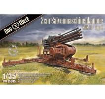 Das Werk 35005 - 1:35 2cm Salvenmaschinenkanone - SMK Typ 2