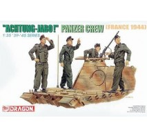 "Dragon - Set figurine echipaj tanc german ""Achtung Jabo!"" 1:35"