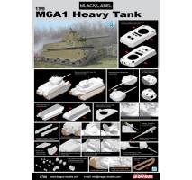 Dragon 6789 - 1:35 M6A1 Heavy Tank