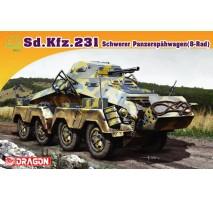 Dragon 7483 - 1:72 Sd.Kfz.231 Schwerer Panzerspahwagen (8-Rad)