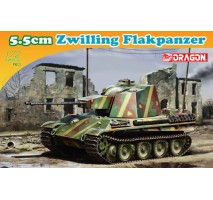 Dragon 7488 - 1:72 5.5cm Zwilling Flakpanzer
