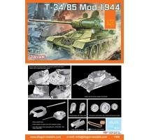 Dragon 7556 - 1:72 T-34/85 Mod.1944
