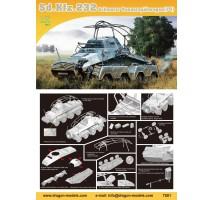 Dragon 7581 - 1:72 Sd.Kfz.232 Schwerer Panzerspahwagen (Fu)
